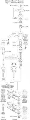Delta Kitchen Faucet Models Moen Faucets Parts Diagrams