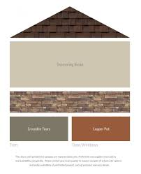 Exterior Paint Colors With Brown Roof