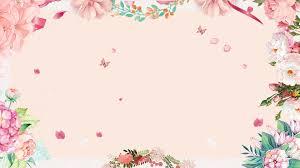 Beautiful Petal Plant Wedding Background Design Pink