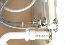how to replace your kitchen faucet supply lines shut off valves install ki faucet side sprayer