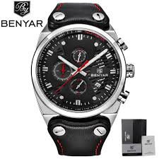online buy whole tactical mens watch from tactical mens benyar luxury men s watches cool tactical military skeleton sport quartz watch male calendar chronograph waterproof