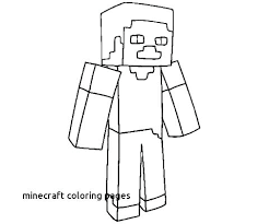 Minecraft Coloring Pages For Kids Camelliacottageinfo