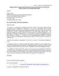 Grant Proposal Cover Letter Sample Grant Proposal Cover Letter
