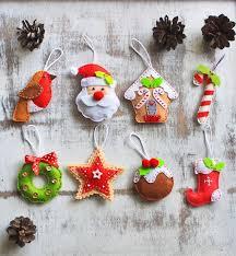 Felt Christmas Ornaments U2013 Cute DIY Christmas Ornaments And Christmas Felt Crafts