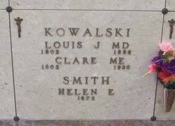 Clare Kowalski ME (1902-1990) - Find A Grave Memorial