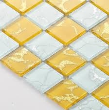 Online Get Cheap Yellow Bathroom Tile Aliexpresscom Alibaba Group - Yellow and white bathroom