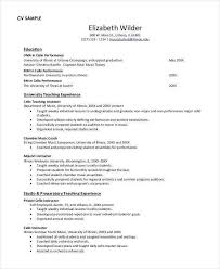 How To Write A Student Resume Stunning Elementary Teacher Resume Sample Beautiful How To Write A Student