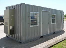 cargo container office. Offices. Cargo Containers Have Long Been Converted Into Offices And Especially For On-site Use. They Are Easy To Construct Mobile. Container Office