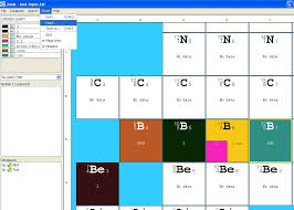 Janis Help Preparing A Nuclide Chart With Data From An