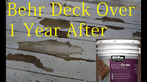 Behr Deck Over Paint Review After 1 Year