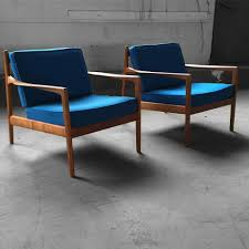 capable swedish midcentury modern folke ohlsson teak lounge chairs for dux sweden 1960s