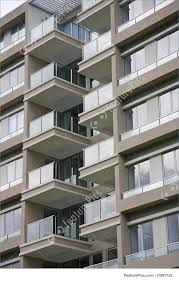 Residential Architecture Modern Apartments Stock Picture - Modern apartment building facade