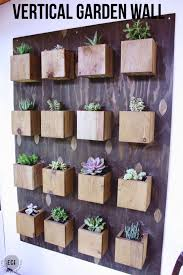 keep a garden year round with a diy vertical planter wall