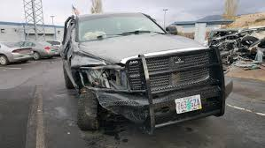 police say a grey 2009 dodge ram 2500 pickup driven by 22 year old by austin haynes of chiloquin oregon was traveling southbound