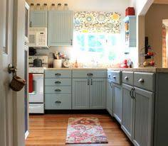 painted kitchen cabinets with white appliances. Alice Lane Home Gorgeous Kitchen Design With White Cabinets, Marble Counter Tops, Farmhouse Sink, Wide Plank Wood Floors, Blue Green Gray G\u2026 Painted Cabinets Appliances I