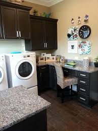 Laundry Room with Office space idea