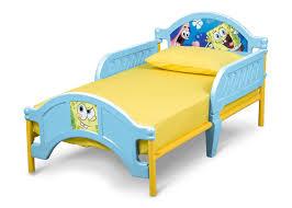 ... Delta Children SpongeBob Plastic Toddler Bed Left Side View a2a