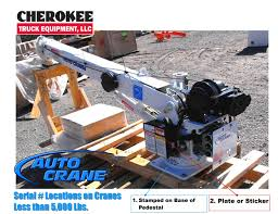 how to find auto crane serial number cherokee truck equipment, llc Auto Crane Wiring Diagram applies to the following auto crane models 2003 series 2403 series 2703 series 3203h series 3203 pr,prx,prd,prxd series 4004h series auto crane 3203 wiring diagram