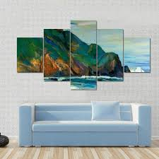 oil painting of seacoast colorful abstract canvas panel painting tiaracle on colorful abstract canvas wall art with oil painting of seacoast colorful abstract multi panel canvas wall