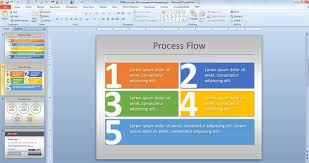 Simple Process Flow Template For Powerpoint Places To