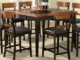 counter height table design hoffmans santacruz designs pub style dining sets coaster franklin round and chairs small kitchen bar two bistro set room metal