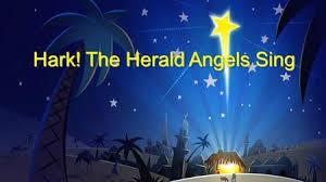 hark the herald angels sing background. Hark The Herald Angels Sing Inside Background