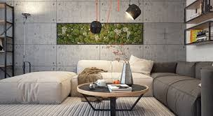 Small Picture Concrete Living Room Decor 20 Concrete Living Room Design Ideas