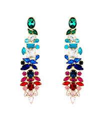 large size of lighting lovely multi colored chandelier earrings 17 henri bendel designer pink stella ruby
