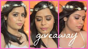 easy spring summer makeup tutorial 2017 giveaway closed indian makeup