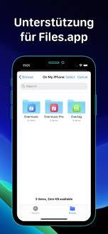 Die app kommt auch mit einer radiofunktion, mit über 20.000 radio kanälen von denen man auswählen kann. Evermusic Musik Herunterladen Im App Store