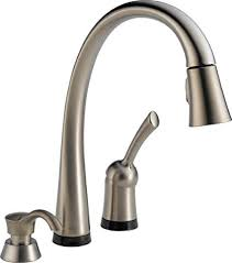 Delta 980TSSSDDST Pilar SingleHandle PullDown Touch Kitchen Faucet Touch Sink Faucet S99