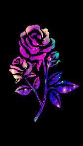 Galaxy Flower Backgrounds ...
