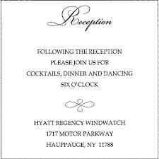 Idea Wedding Reception Invitations Wording For Wedding Reception