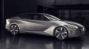 Nissan Vmotion 2.0 concept car at the 2017 Detroit auto show