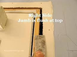 installing a door frame installing door jamb door jamb flush with wall replace door jamb weatherstrip installing a door frame