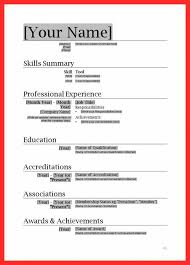Microsoft Office Resume Templates 2018 Gorgeous Microsoft Office Resume Templates Free Download Resume In Ms Word