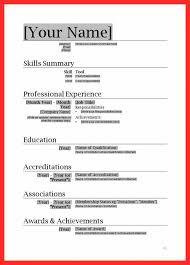 Download Resume Templates Amazing Microsoft Office Resume Templates Free Download Resume In Ms Word