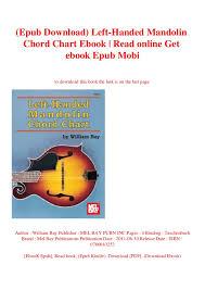 Complete Mandolin Chord Chart Epub Download Left Handed Mandolin Chord Chart Ebook Read