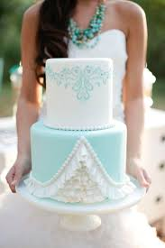 440 Best 3 Aqua Teal Wedding Cakes Images On Pinterest Wedding