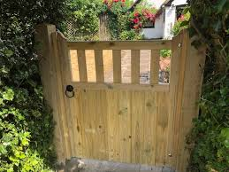 bespoke wooden gates in coventry