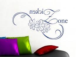 Wandtattoo Aufkleber Tattoo Für Jugendzimmer Blumen Teenie Zone