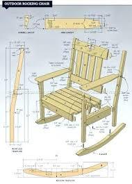 Wooden Rocking Chair Plans Rocker Chair Plans Wooden Rocking A