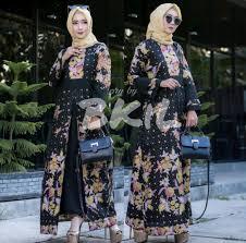 Baju gamis couple 2020 batik brokat mahkota. 27 Model Baju Gamis Terbaru Yang Modern Kekinian Updated 2020 Bukareview