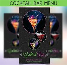 Wine Menu Template Word Bar Drink Templates Free – Therunapp