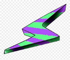Blitz Premium Lila Grün Purple Green Freetoedit Graphic