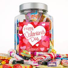 personalised retro sweet jar happy valentine s day gettingpersonal co uk
