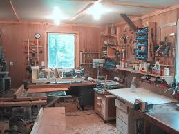 small woodworking workshop. north-west view small woodworking workshop
