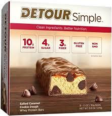 Detour Simple Whey Protein Bar, Salted Caramel ... - Amazon.com