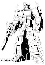 Transformers Rescue Bots Coloring Pages Free Printable Optimus Prime
