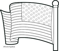 American Flag Coloring Page Preschool Coloring Pages Of Flag Us Flag